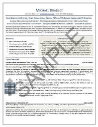 senior executive resume exles executive resume sle elizabeth bradford the career artisan