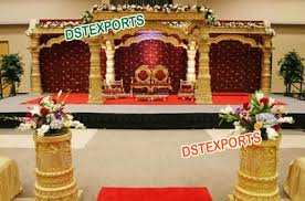 indian wedding mandap prices wedding mandap indian wedding gold dev mandap exporter from patiala
