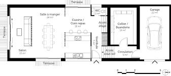 plan de maison en l avec 4 chambres charmant plan de maison 4 chambres avec etage 6 plan maison avec
