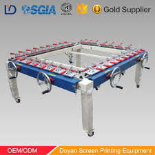 Stretching Table Adjudtable Cheap Silk Screen Printing Mesh Stretching Machine