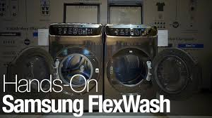 black friday 2017 washer dryer samsung cleans up in 2017 with flexwash and flexdry reviewed com