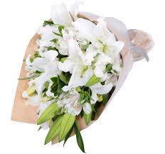 bouquet of lilies bouquet gift flowers hk