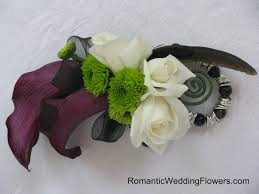 calla corsage the gardens at pemberley a beautiful day for prom