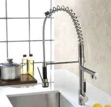 luxice modern stainless steel single handle pull down spray