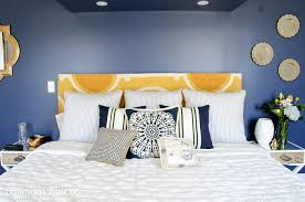 Ideas For Guest Bedrooms - navy and gold guest bedroom ideas guest bedroom colors