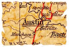 Old Texas Map 100 Austin Texas Map Austin Texas Area Map Stock Vector