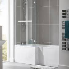 essential kensington square shower bath pack