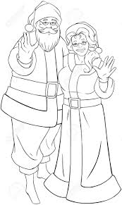 mrs claus coloring pages inspirational 1711
