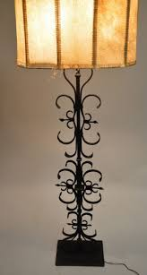 floor lamps wrought iron floor lamps 1920s french hammered hand