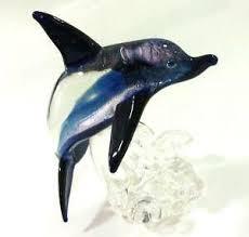 glass dolphin ebay