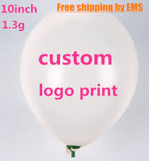 personalized balloons 10 1 3g custom balloons printing personalized ballons logo print