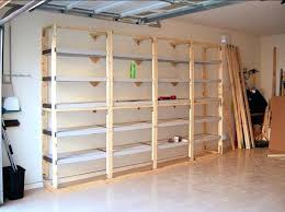 style garage storage shelvesgarage wood shelves diy wooden shelf