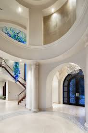 Front Door Chandelier Impressive White Glass Chandelier Sunroom Traditional With Porch