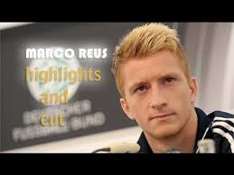 Marco Reus Hairstyle Marco Reus Highlights And Cut Youtube