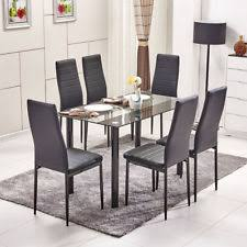 Dining Tables And 6 Chairs Dining Table And 6 Chairs Furniture Ebay