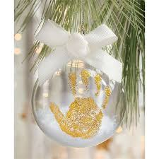 mud pie christmas ornaments gold handprint ornament mud pie