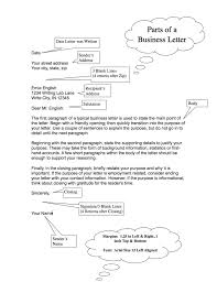 parts of a business letter ghea u0026 039 s blog business letter for