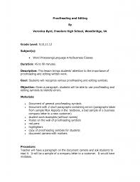 Profile Resume Example by Resume Best Resume Profile Resume For A Cleaning Job Create A
