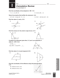 mcdougal holt geometry chapter 9 test answers 28 images
