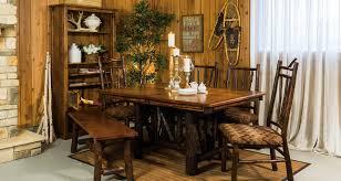 Log Dining Room Table Log Dining Room Furniture