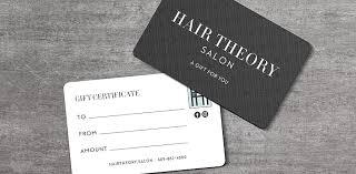 salon gift cards hair salon gift cards hair theory salon lawrenceville nj