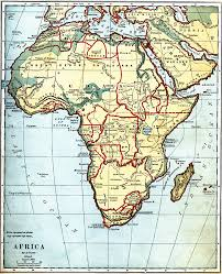africa map before colonization 4873 jpg