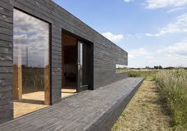 Black Barns Stealth Barn Is A Striking Black Guest House Converted From A