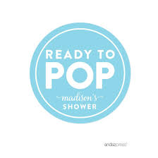 amazon com andaz press ready to pop baby shower collection