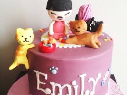 kitty cat birthday cake cakecentral com