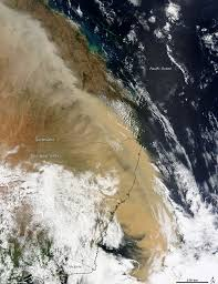 Wildfire From Space by Australia Dust Storm Sweeps Across Eastern Coast Daily Mail Online