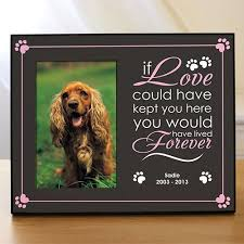 remembrance picture frame personalized pet remembrance frame pet memorial picture frame
