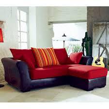 achat canape d angle canapé d angle réversible 3 places fixe pouf sansierra