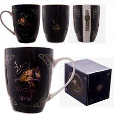 coffee cups amazon com lisa parker witches brew bone china mug coffee cups