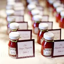 wedding reception favors diy bbq reception favor bbq roast picnic theme