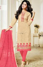 buy simple neck designs salwar kameez casual office wear for