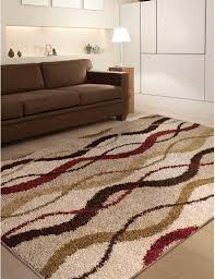 slinky area rug square light brown lines pattern wool carpet