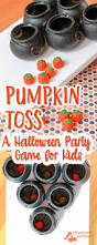 Pumpkin Toss Simple Party Games For Children