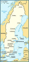 Map Sweden Bohuslan Sweden Southern Map Travel Map Vacations