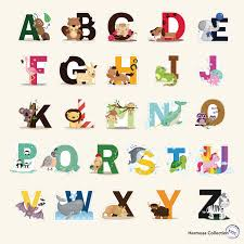 amazon com baby decals for nursery wall stickers nursery decals fun educational alphabet with animals for baby nursery and kids rooms wall decor easy peel
