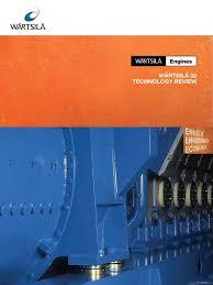 wartsila 32 technology review piston bearing mechanical