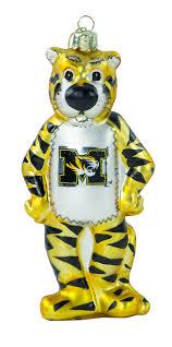 missouri tigers truman the tiger mascot ornament northpoledecor