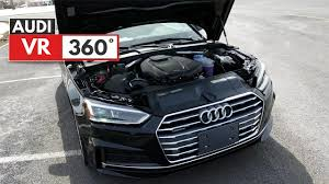 engine for audi a5 vr 2018 audi a5 coupe engine startup 360