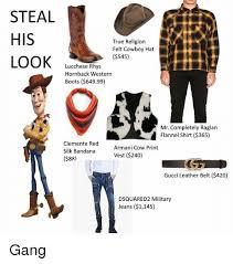 Gucci Hat Meme - steal his true religion felt cowboy hat look 545 lucchese rhys
