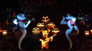 halloween mickey mouse background download wallpaper 2048x1152 halloween pumpkins models mickey