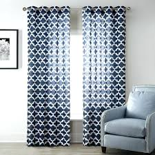 Navy Patterned Curtains Patterned Kitchen Curtains Cjphotography Me