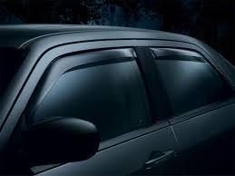 nissan titan heat shield rattle amazon com weathertech custom fit front u0026 rear side window