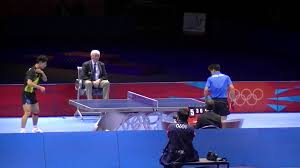 What Is The Size Of A Ping Pong Table by London 2012 Olympics Table Tennis Men U0027s Finals Zhang Jike Vs