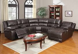 Sectional Reclining Sofas Leather Sofa Winsome Sectional Sofas With Chaise And Recliner Miami