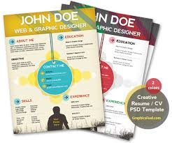 Psd Resume Template 29 Creative And Beautiful Resume Templates Wisestep