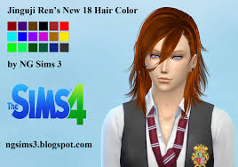hair color to download for sims 3 ng sims 3 october 2015